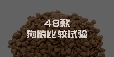48款犬粮评测
